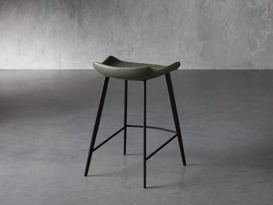 Gage Backless Counter Stool in Pine, slide 4 of 7