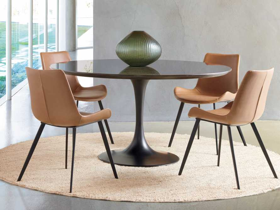 Gage Dining Side Chair in Tanner, slide 1 of 8