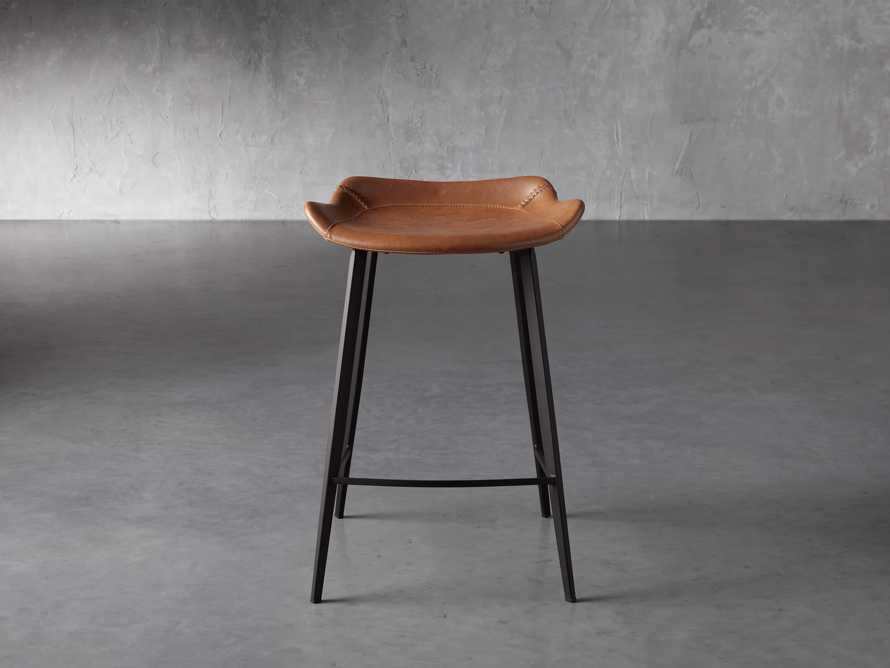 Gage Backless Counter Stool in Tanner, slide 1 of 7