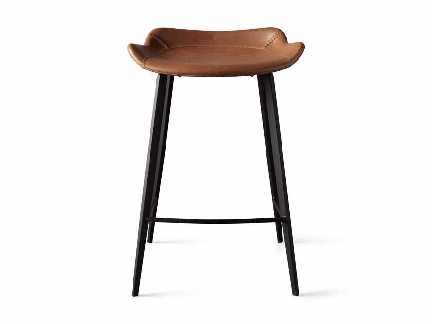 Gage Backless Counter Stool in Tanner, slide 6 of 7