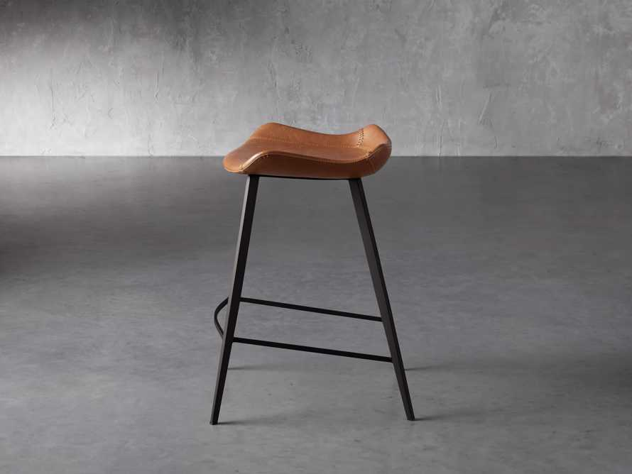 Gage Backless Counter Stool in Tanner, slide 3 of 7