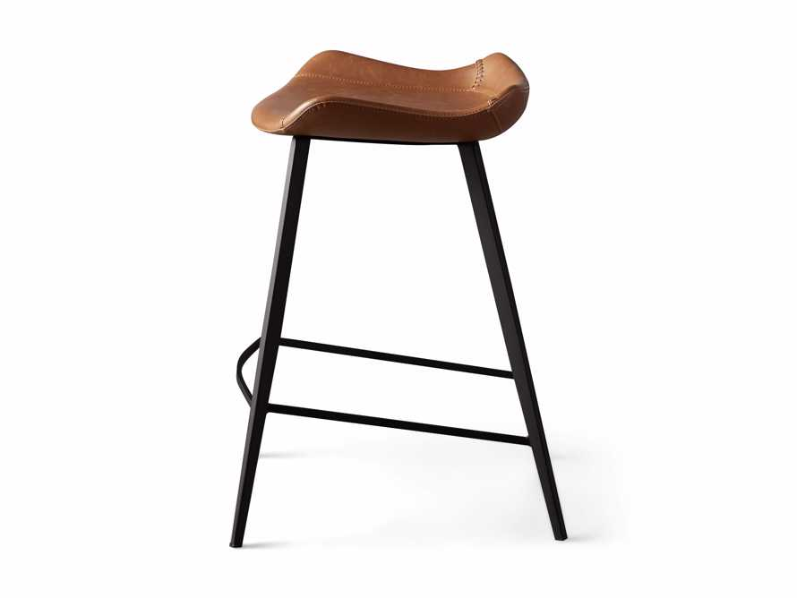 Gage Backless Counter Stool in Tanner, slide 7 of 7