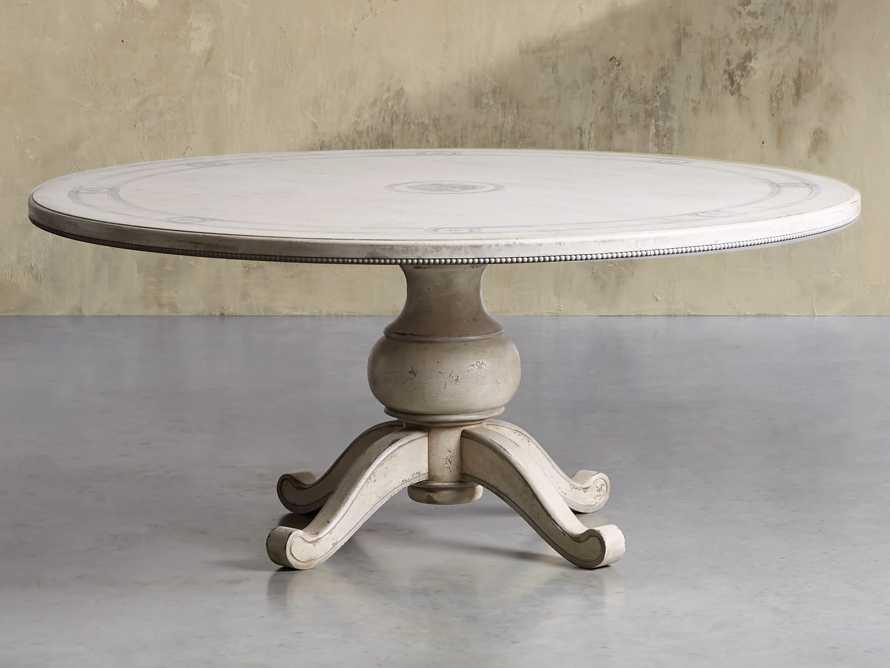 "Girardi 48"" Bell'Arte Round Dining Table, slide 1 of 7"