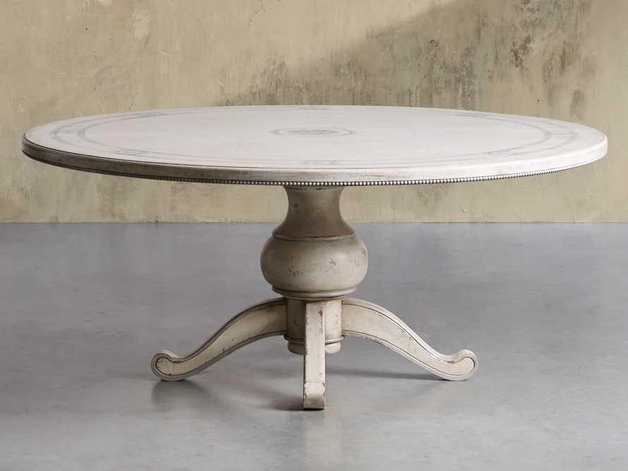 "Girardi 48"" Bell'Arte Round Dining Table, slide 2 of 7"