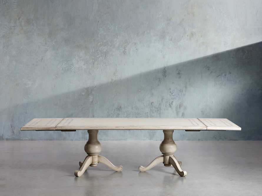 "Girardi 78"" Bell'Arte Rectangle Extension Dining Table, slide 4 of 12"