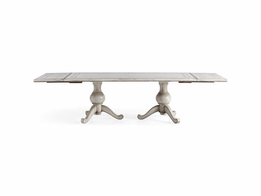 "Girardi 78"" Bell'Arte Rectangle Extension Dining Table, slide 10 of 12"