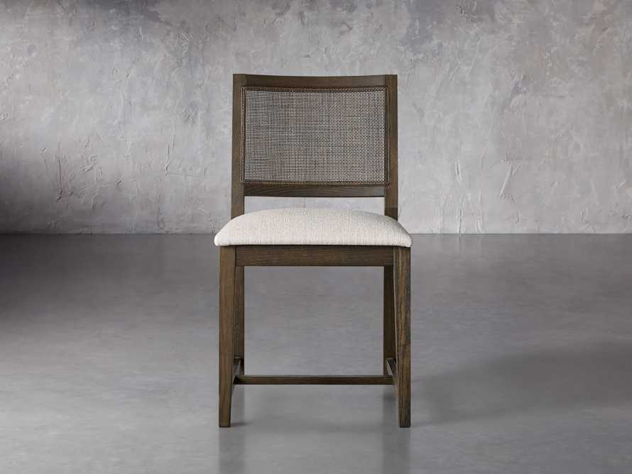 """Grace Cane 19"""" Dining Side Chair In Cinder Farmhouse, slide 2 of 8"""