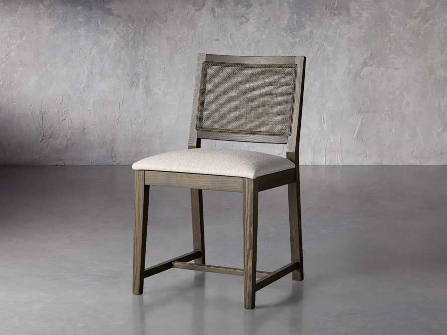 """Grace Cane 19"""" Dining Side Chair In Cinder Farmhouse, slide 3 of 8"""
