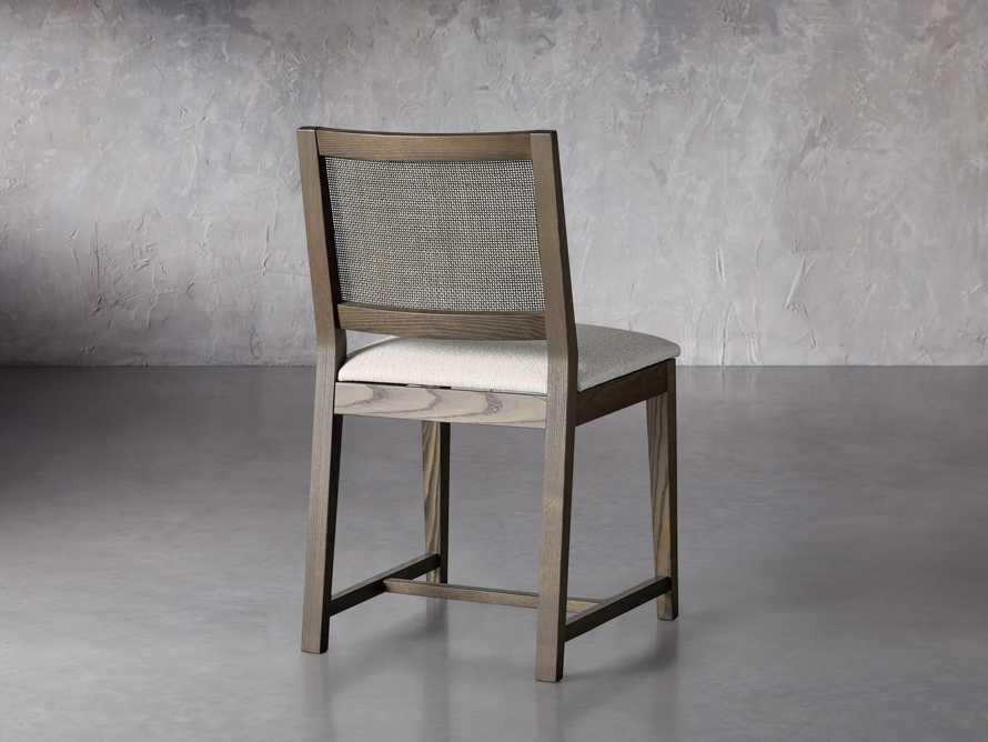 """Grace Cane 19"""" Dining Side Chair In Cinder Farmhouse, slide 5 of 8"""