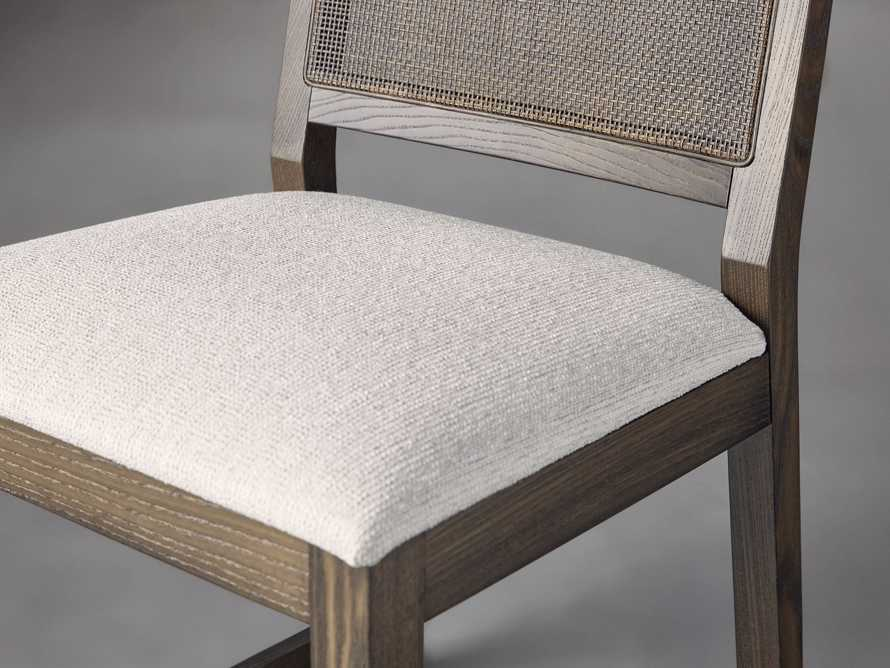 """Grace Cane 19"""" Dining Side Chair In Cinder Farmhouse, slide 6 of 8"""