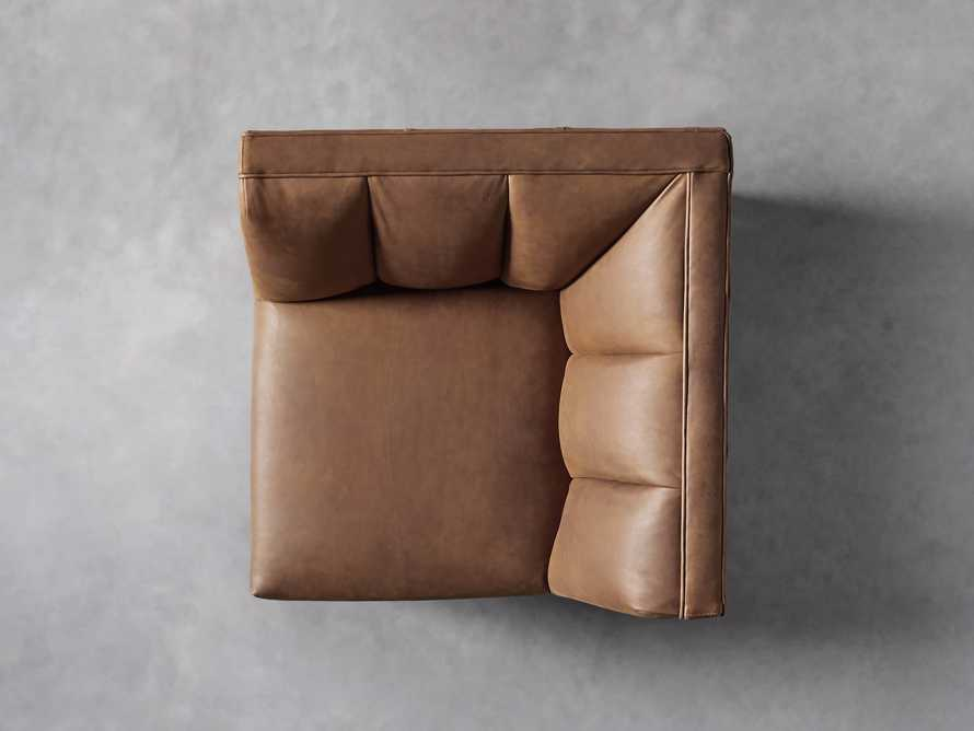 "Gates Leather 32"" Corner in Lukas Pecan, slide 4 of 7"