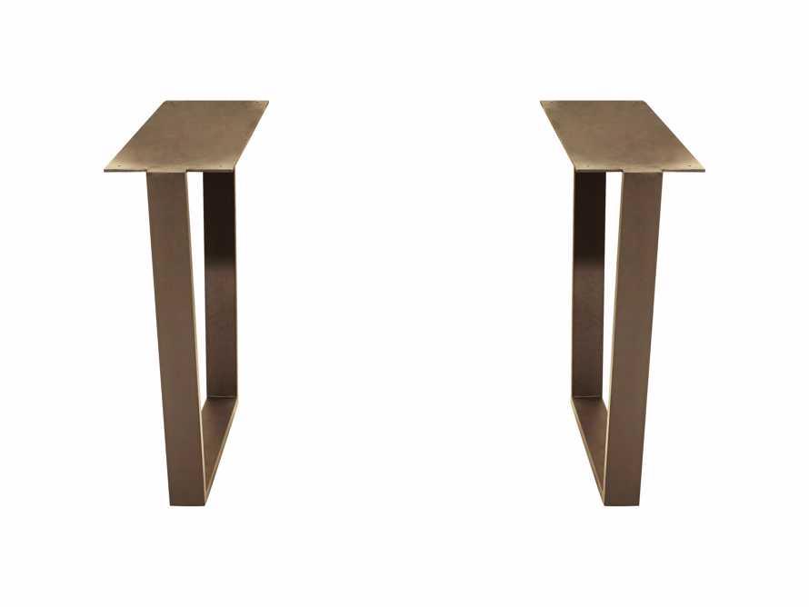 Hardyn Table Base in Aged Brass