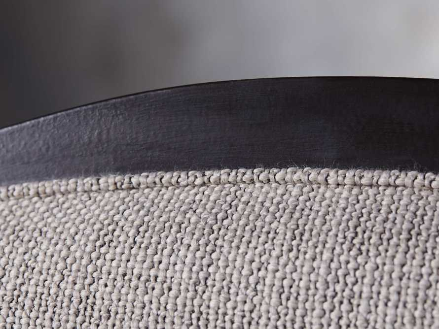 Isabella Dining Arm Chair in Tundra Stone and Nero, slide 9 of 13