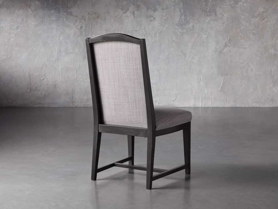 Isabella Dining Side Chair in Tundra Stone and Nero, slide 5 of 11