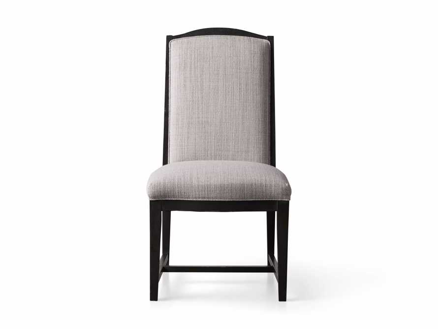 Isabella Dining Side Chair in Tundra Stone and Nero, slide 10 of 11