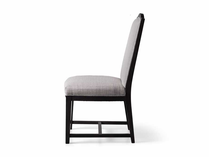 Isabella Dining Side Chair in Tundra Stone and Nero, slide 11 of 11