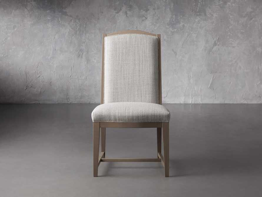"""Isabella 27""""Antique Blonde Dining Side Chair in Tundra Cream, slide 1 of 7"""