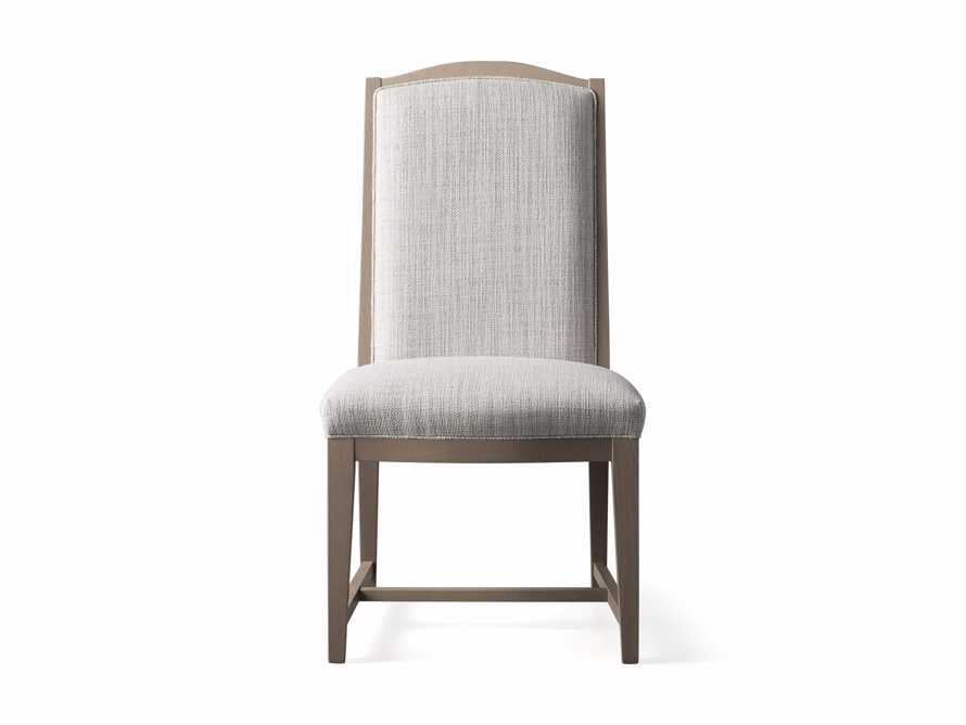 """Isabella 27""""Antique Blonde Dining Side Chair in Tundra Cream, slide 6 of 7"""