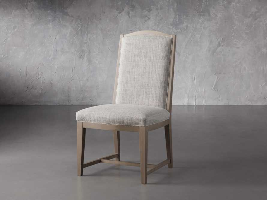 """Isabella 27""""Antique Blonde Dining Side Chair in Tundra Cream, slide 2 of 7"""