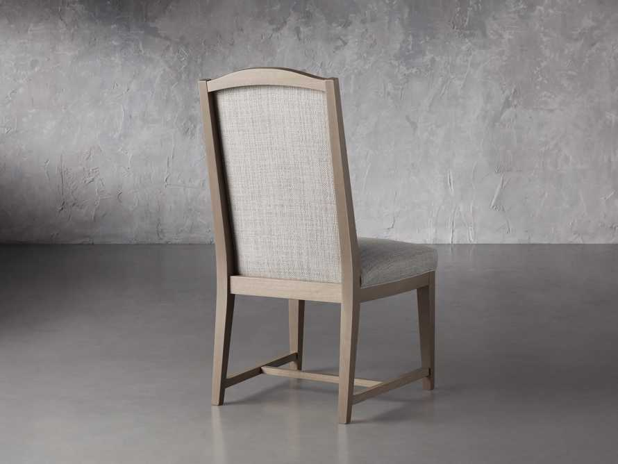 """Isabella 27""""Antique Blonde Dining Side Chair in Tundra Cream, slide 4 of 7"""