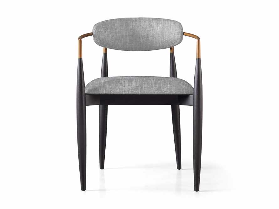 Jagger  Dining Arm Chair in Cary Grey, slide 7 of 8