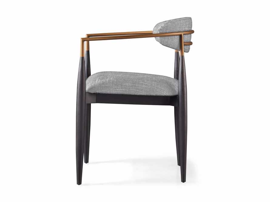 Jagger  Dining Arm Chair in Cary Grey, slide 8 of 8