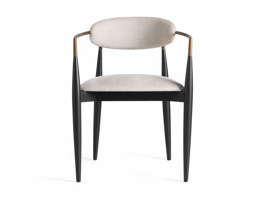 """Jagger 22"""" Dining Arm Chair in Cary Linen, slide 9 of 10"""
