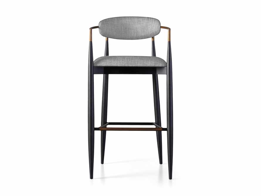 Jagger Barstool in Cary Grey, slide 6 of 6