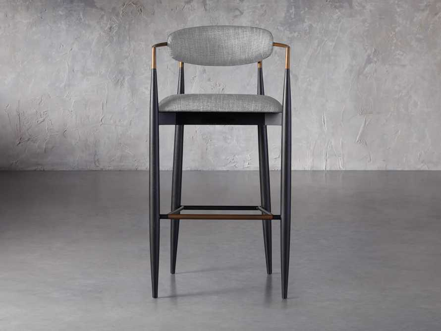 Jagger Barstool in Cary Grey, slide 1 of 6