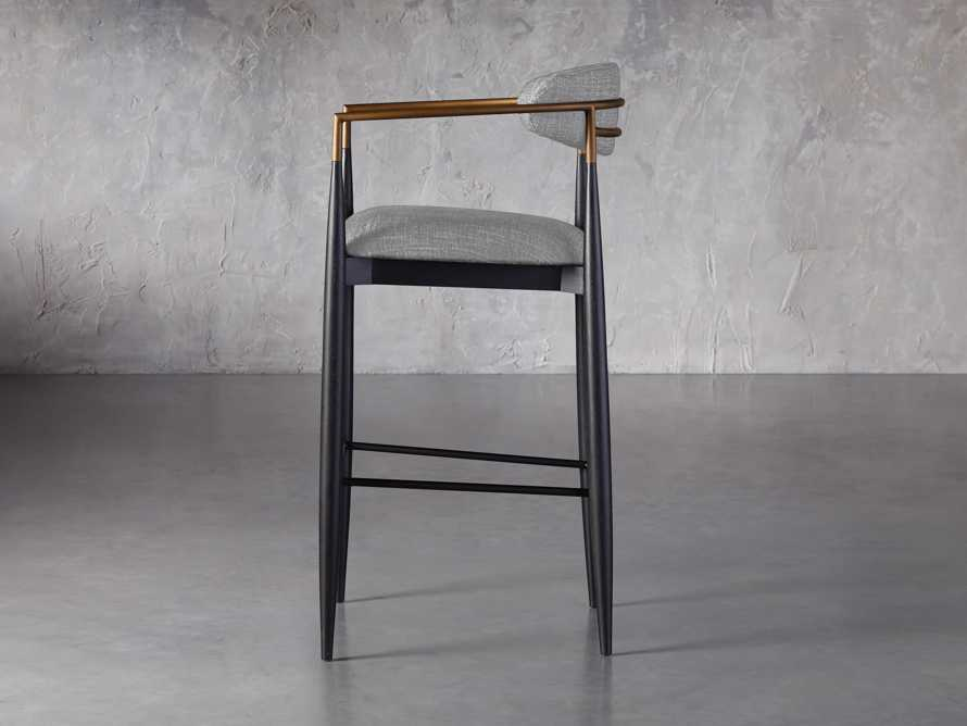 Jagger Barstool in Cary Grey, slide 3 of 6