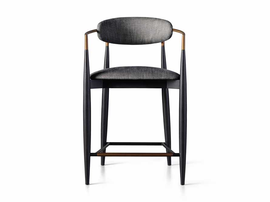 """Jagger 22"""" Counter Stool in Cary Black, slide 6 of 6"""