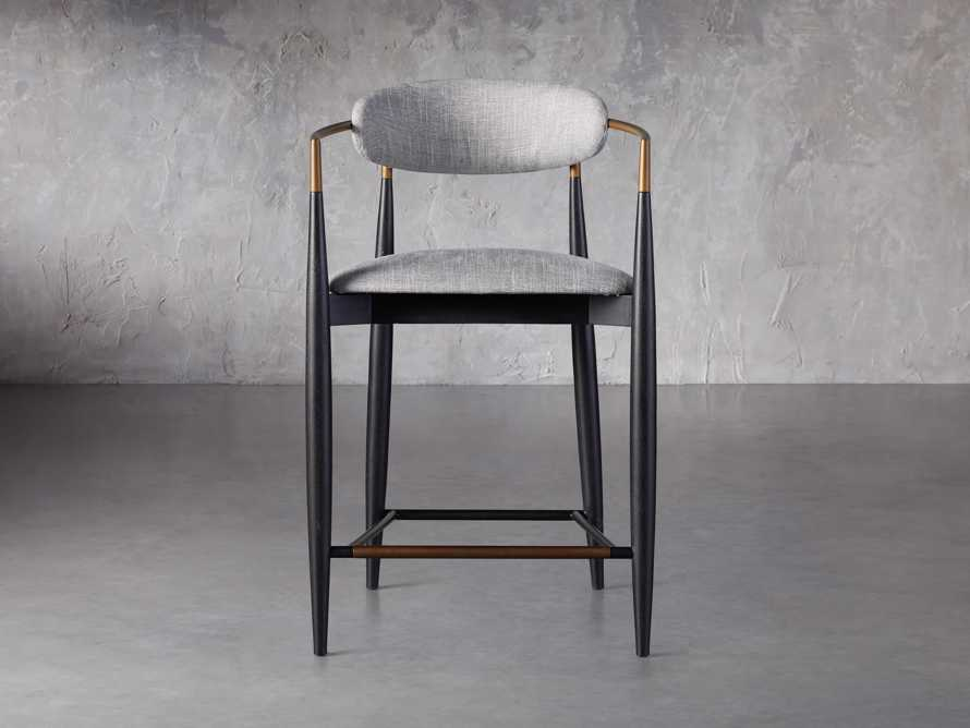 Jagger Counter Stool in Cary Grey, slide 1 of 6