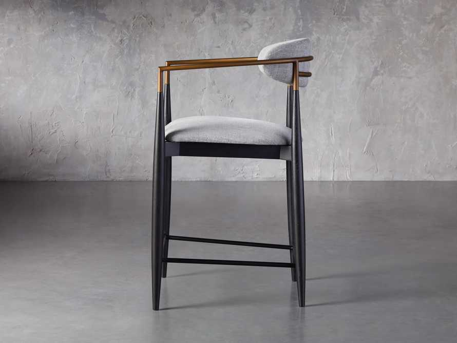 Jagger Counter Stool in Cary Grey, slide 3 of 6