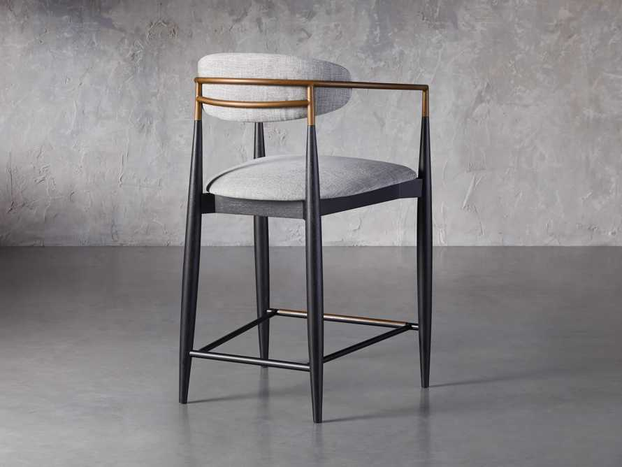 Jagger Counter Stool in Cary Grey, slide 4 of 6