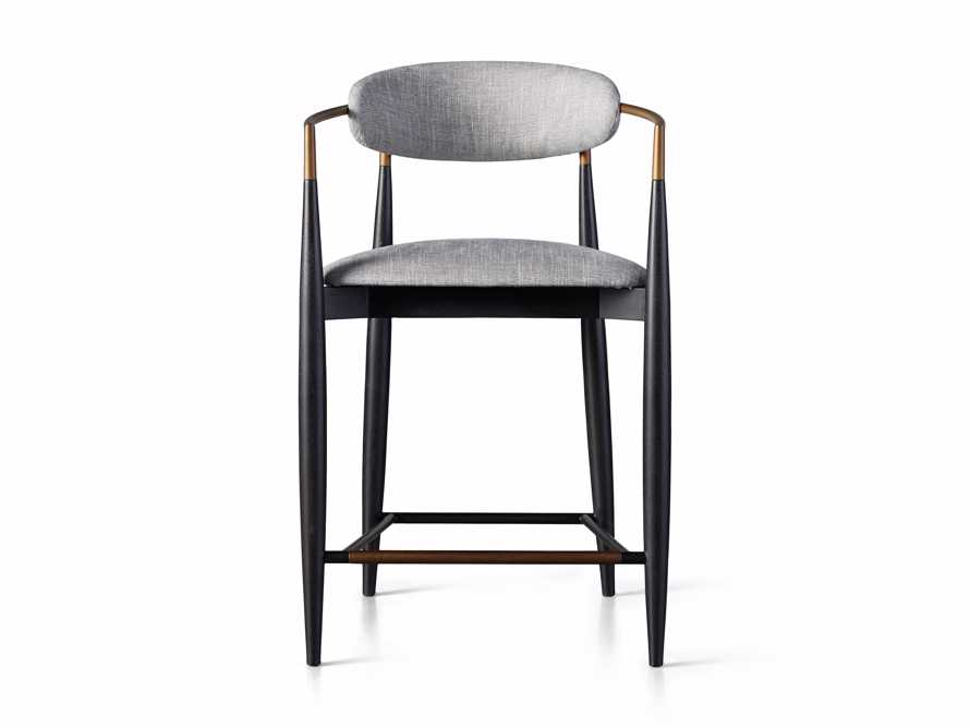 Jagger Counter Stool in Cary Grey, slide 6 of 6