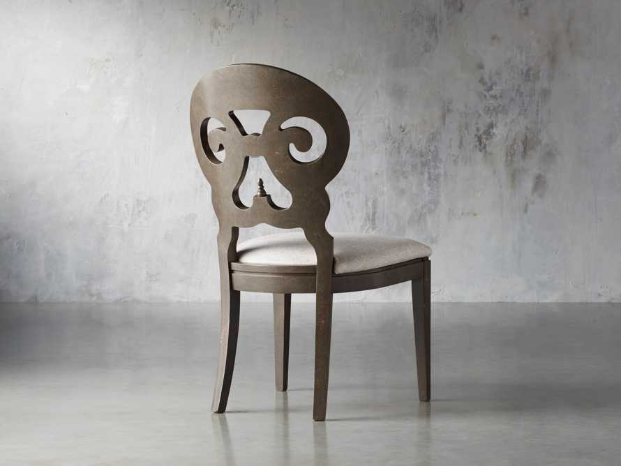 Jordan Bell'Arte Dining Side Chair with Upholstered Seat, slide 6 of 11