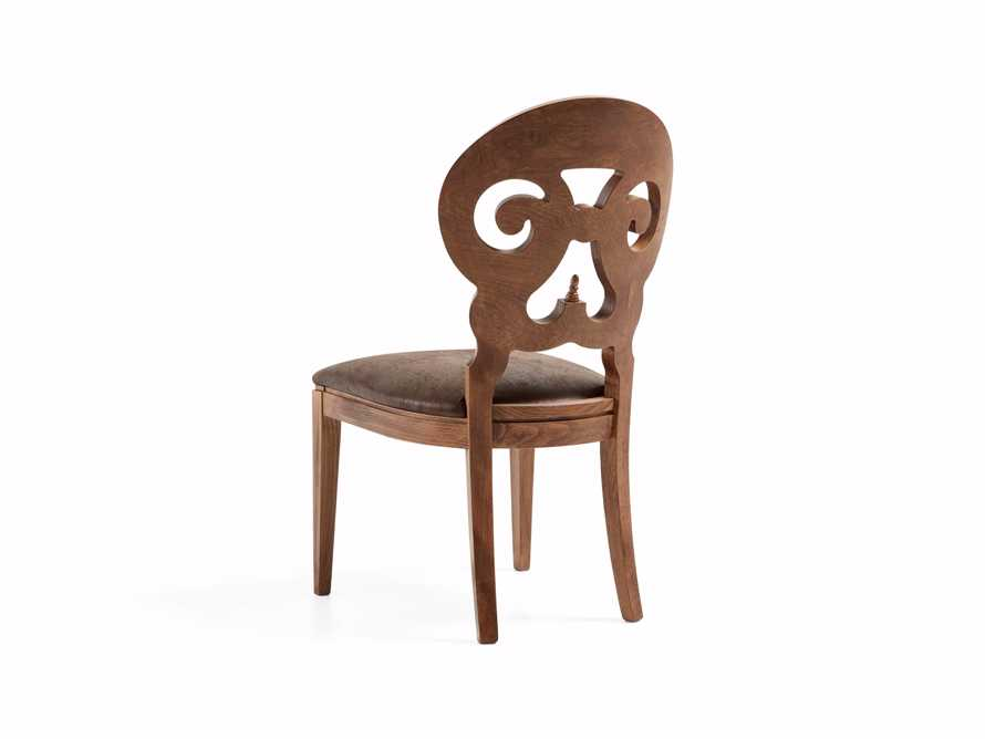 "Jordan 21"" Dining Side Chair with Upholstered Seat in Farmhouse"