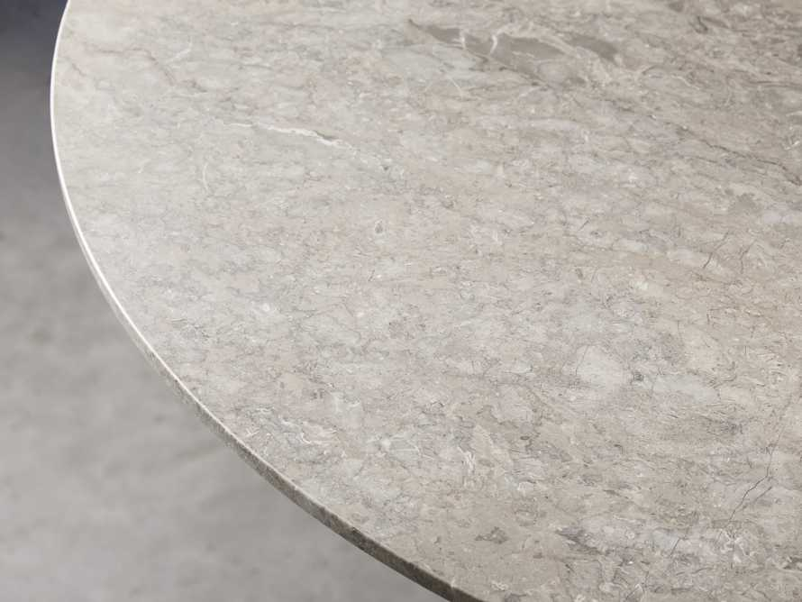 "Kamilah 36"" Marble Top Counter Table, slide 3 of 5"