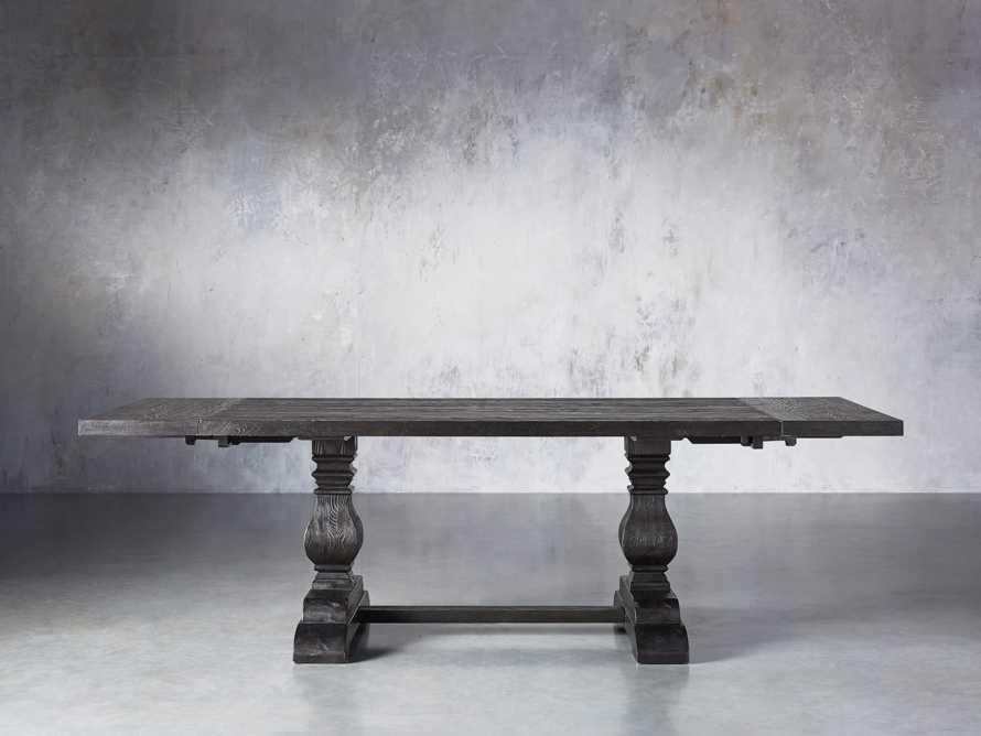 """Kensington 72"""" Extension Dining Table in Dark Ebony"""
