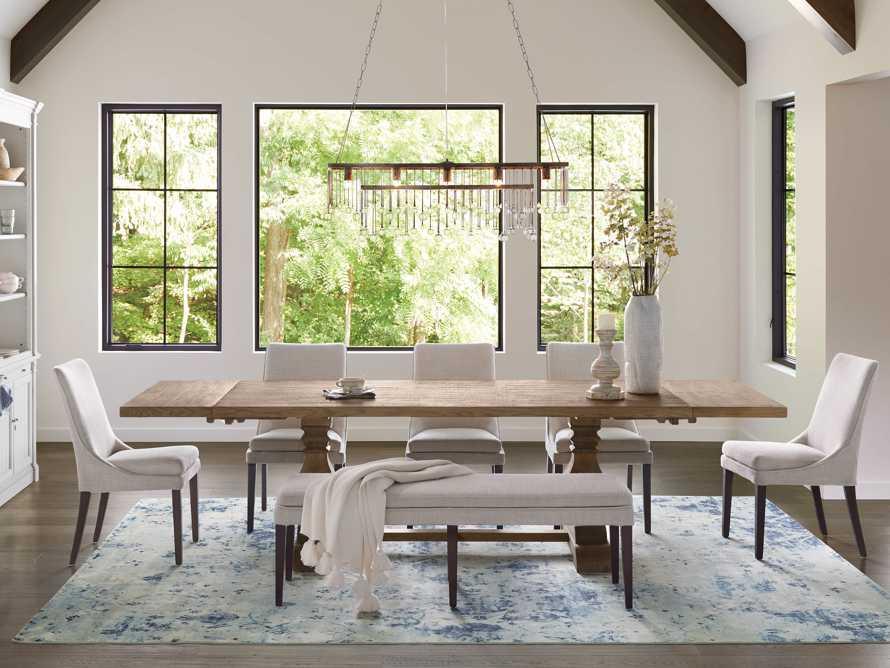 "Kensington 72"" Extension Dining Table in Honey, slide 1 of 11"