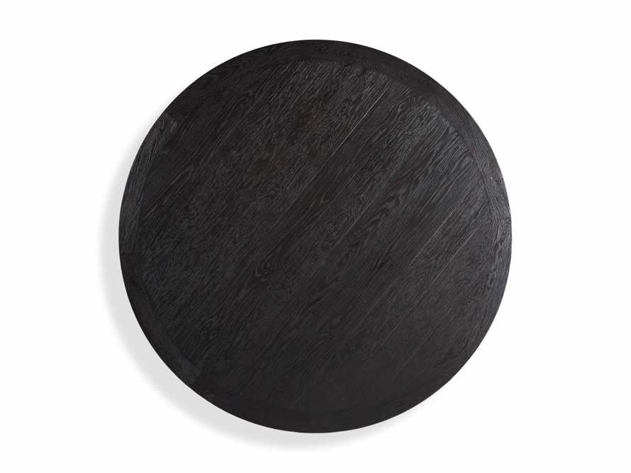 "Kensington 48"" Round Dining Table in Dark Ebony"