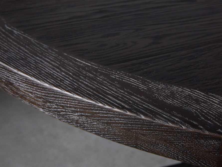 "Kensington 60"" Round Dining Table in Dark Ebony, slide 3 of 7"