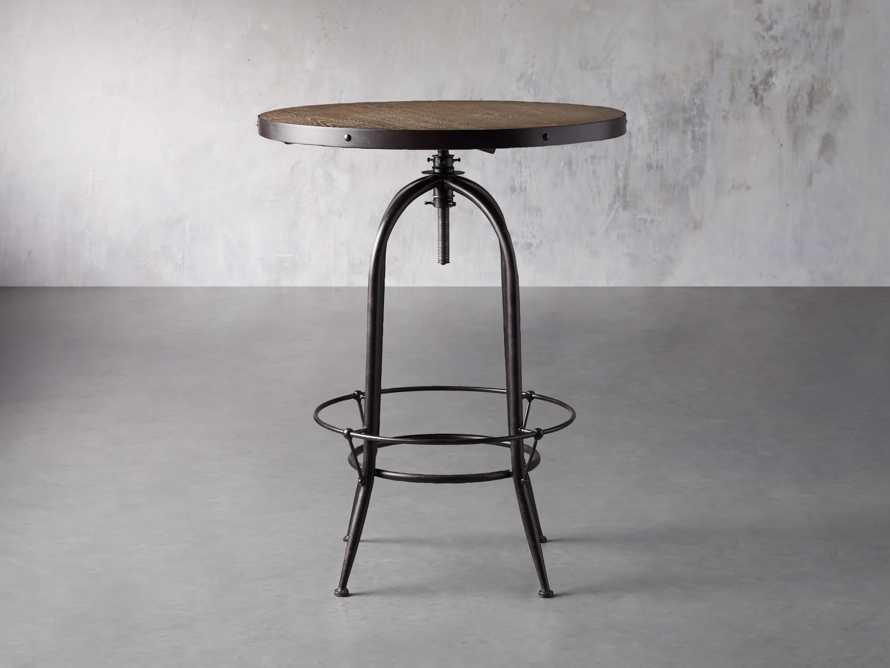 "Kensington 32"" Bar Table in Benedict Brown, slide 1 of 7"