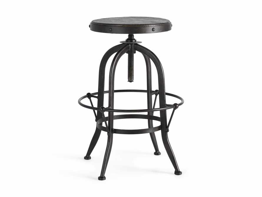 "Kensington 20"" Adjustable Stool in Ebony, slide 7 of 8"