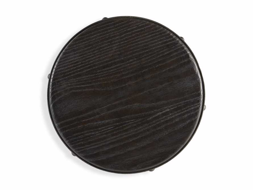 "Kensington 20"" Adjustable Stool in Ebony, slide 6 of 8"