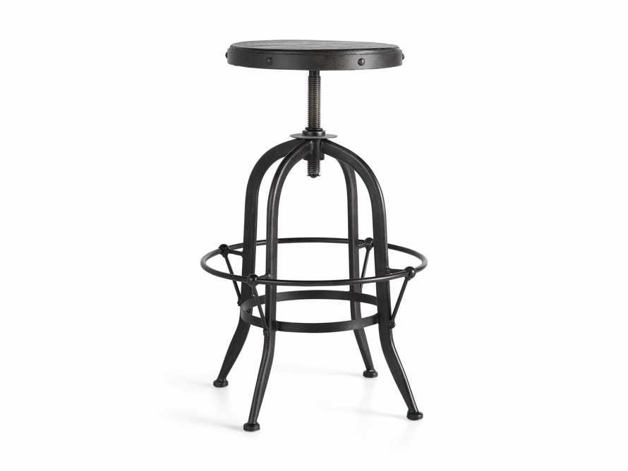 "Kensington 20"" Adjustable Stool in Ebony, slide 8 of 8"