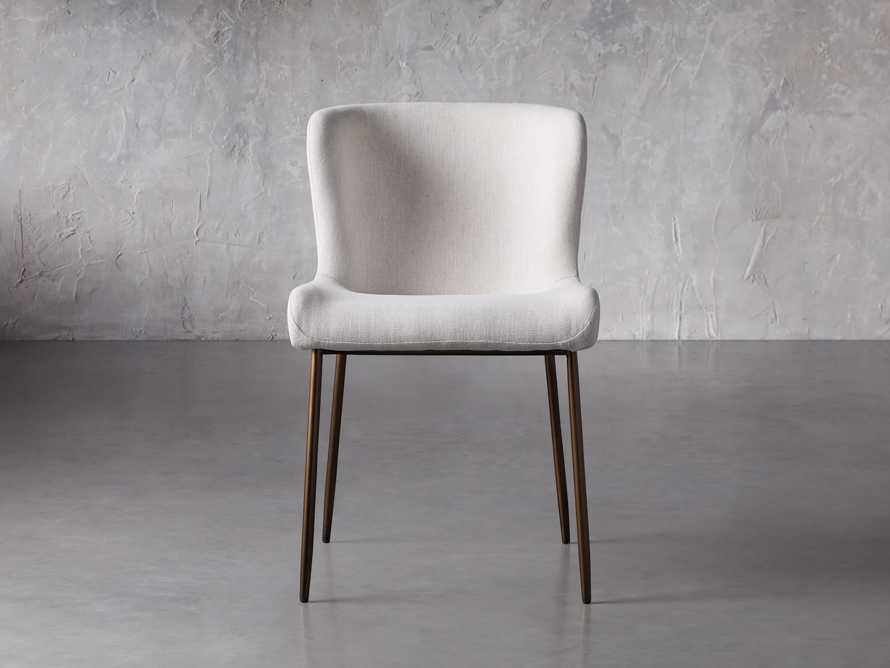 """Kirsten 20"""" Dining Side Chair Nomad Snow, slide 2 of 8"""