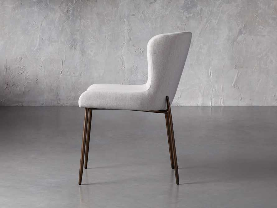 """Kirsten 20"""" Dining Side Chair Nomad Snow, slide 4 of 8"""