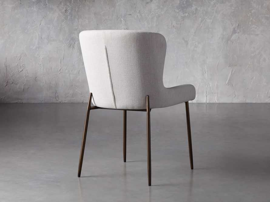 """Kirsten 20"""" Dining Side Chair Nomad Snow, slide 5 of 8"""