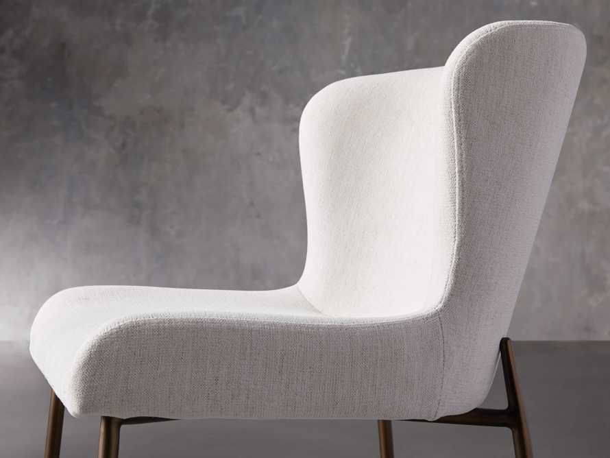 """Kirsten 20"""" Dining Side Chair Nomad Snow, slide 6 of 8"""